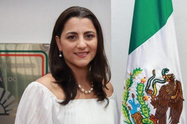La magistrada Isabel Cecilia González Glennie reconoce que su cargo se lo debe al diputado Eduardo Martínez Arcila.