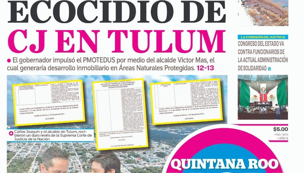 Detienen desastre ambiental en Tulum - Quintana Roo Hoy